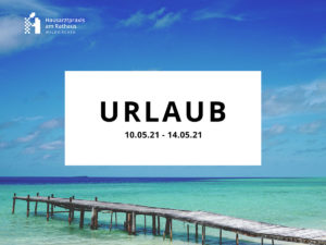Read more about the article Urlaub Mai 2021