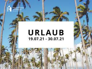 Read more about the article Urlaub Juli 2021