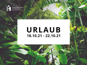 Read more about the article Urlaub Oktober 2021